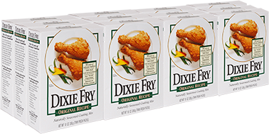 DIXIE FRY – 1 Case (12 – 10 oz Boxes)